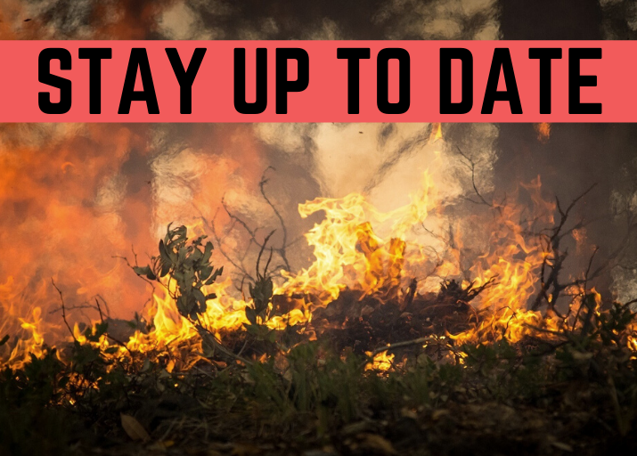 Stay up-to-date with fires